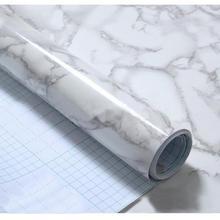 Самоклеящаяся палочка, рулонная бумага 60X50 см, самоклеящаяся настенная бумага, гранит, мраморный эффект, водонепроницаемая плотная ПВХ настенная бумага#719