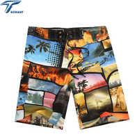 Venta al por mayor nuevos pantalones cortos De Marca De playa para hombre, Bermudas De Surf para hombre, pantalones cortos para hombre, pantalones cortos para Surf, nuevo verano 2019