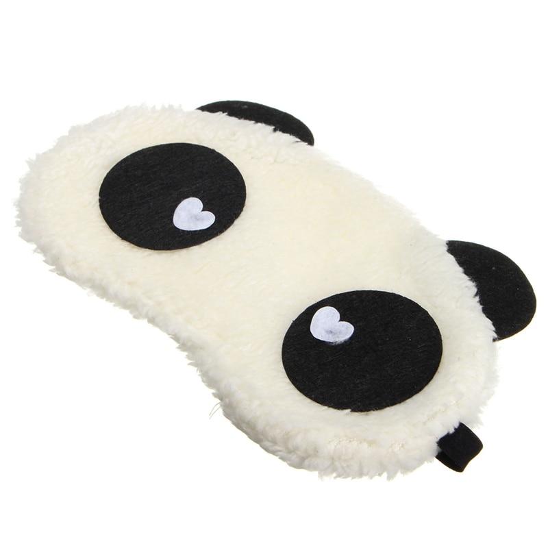 New Arrival Lovely Soft Cartoon Panda Sleeping Eye Mask Eyeshade Cute Nap Shade Blindfold font b