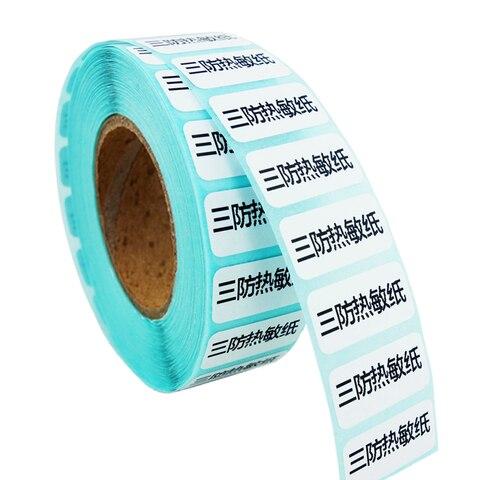 termica etiquetas da etiqueta 20mm x 10mm pequeno branco em branco impressao da etiqueta do