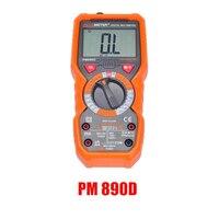 Peakmeter 890C 890D Digital Multimeter NCV Voltage Current Resistance Tester Capacitance Frequency Temperature hFE measure tool