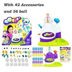 Alta qualidade magia adesivo música onda oônias crianças diy artesanal criativo pegajoso bola onoies bolha inflator brinquedo dropshipping