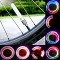 2pcs Colorful Cycling Bicycle Bike Motor Motorcycle Car Tyre Tire Wheel Valve Cap Spoke 5 LED Flash Light Sense Lamp