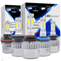 72W 8000LM Car Headlight H7 Led H4 H11 H8 9006 9005 LED Bulbs 6500k Chips CSP
