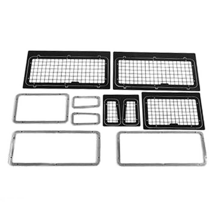 NEW Window Metal mesh net Grille set For Rover Defender