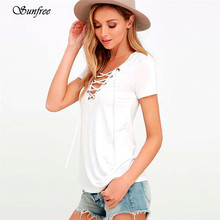 Trendy Style Women Girl Spring Summer Fashion Womens Loose Pullover T Shirt Short Sleeve Tops T Shirt Gifts Wholesale May 26(China)