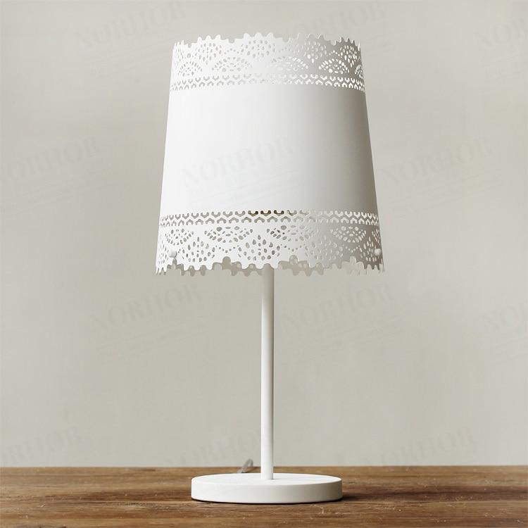 Nordic Ikea Bedroom Bedside Lamp Markor American Country Pastoral Metal Lace Table Lamp Table Lamp Lamp Benq Lamp Floor Lamplamp Port Aliexpress
