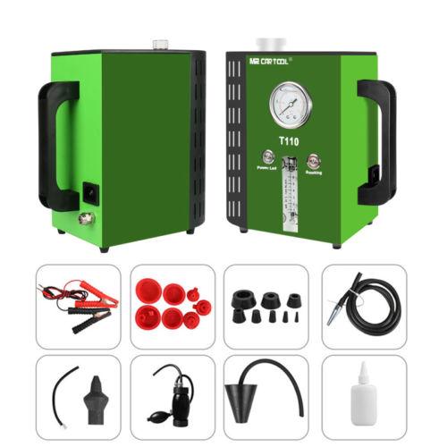 MR CARTOOL T110 Car Smoke Generator Vehicle Pipe Leakage Detector Smoke Maker Diagnostic Auto 12V DC