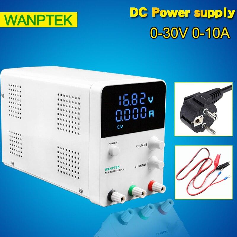 Wanptek Mini LED Digital Adjustable Switching Power Supply,input 220v 0-30V 0-10A DC Power Supply GPS3010D wanptek mini adjustable digital display 30v 60v 5a 10a dc power supply switching power supply