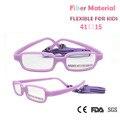 Moda Infantil Frame Ótico Óculos de Nerd ZBZ Meninas Meninos Inquebrável Novo Material De Fibra Flexível Crianças Óculos Quadros com Caso
