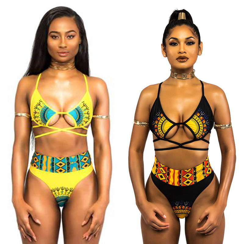 New Summer Women Swimwear Bandage Bikini Set Push-up Padded Bra Bathing Suit Swimsuit youdian 2017 bikini tanga summer style women sexy bandage push up biquinis padded bra bikini set swimsuit bathing suit swimwear