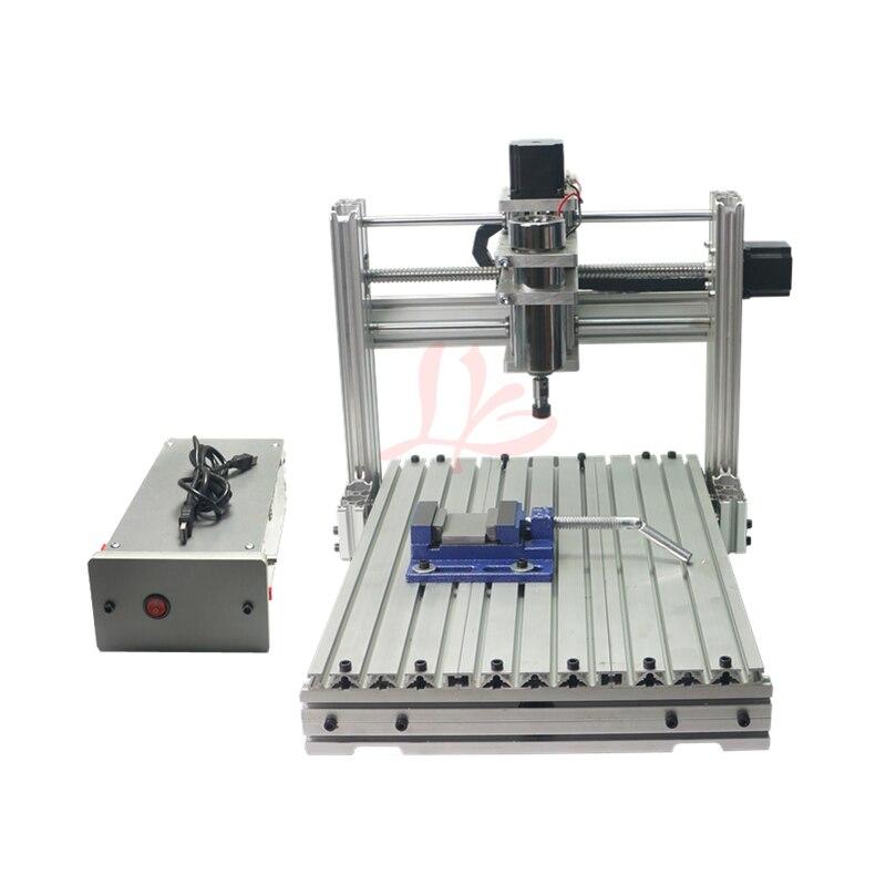 5 axes bricolage Mini CNC machine de gravure 3040 CNC routeur pour le métal - 2