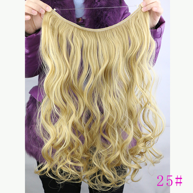 New hot 80g 18inch curlywavy hide wire flip in synthetic hair new hot 80g 18inch curlywavy hide wire flip in synthetic hair extensions womens remy pmusecretfo Image collections