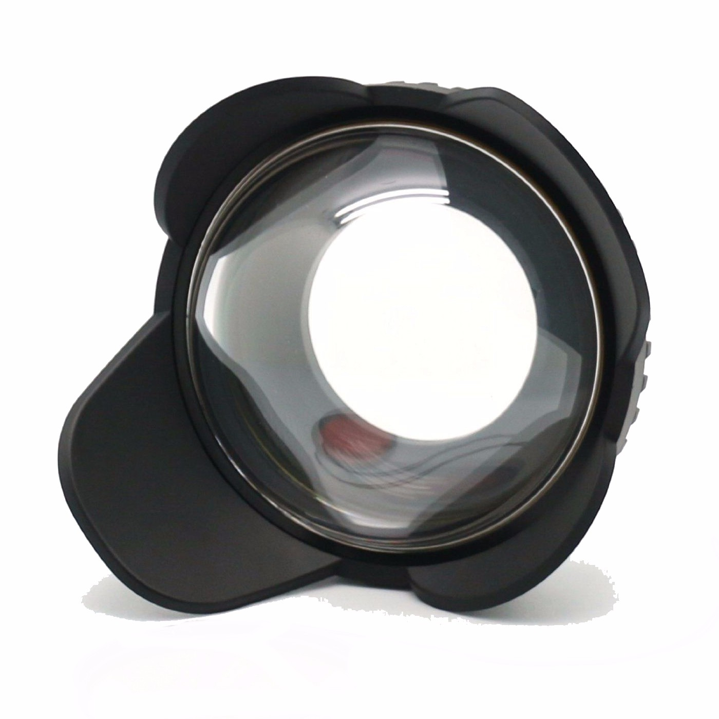 MEIKON 67mm Fisheye Wide Angle Lens Dome Port Shade Cover 60m 197ft Waterproof 67mm Adapter for