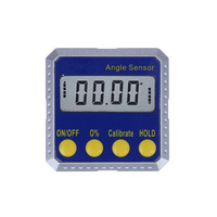 360 Degree Mini Digital Protractor Inclinometer Electronic Angle Gauge Meter With Dual Surface Magnets And Metal