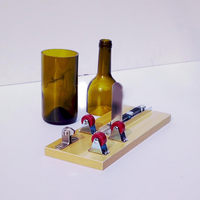 1 Set Wine Bottle Cutter Machine Practical DIY Glass Cutter Tools Beer Bottle Jar Cut Tool