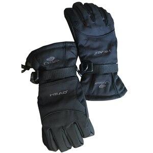 Image 3 - 2019 男性のスキー手袋フリーススノーボード手袋グローブスノーバイクライディング冬の手袋防風防水ユニセックススノーグローブ