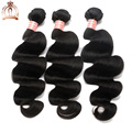 8A Malaysian Virgin Hair Body Wave Human Hair Bundles 3PCS Unprocessed Malaysian Body Wave Hair Extension Natural Black Color