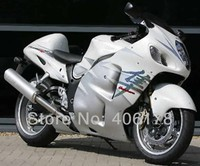 Free Shipping GSXR1300 96 07 Body Kit For Suzuki GSX 1300 Hayabusa 1996 2007 White Motorcycle