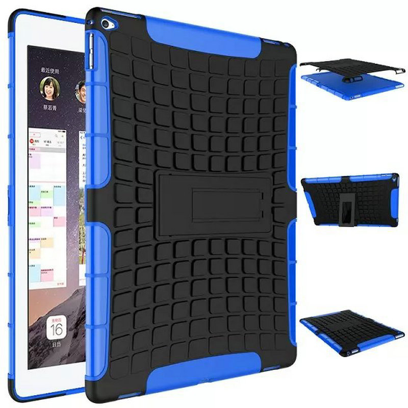 Fashion Dual Layer 2 in 1 Rugged Hybrid Hard Case For iPad Air 1 iPad 5 Free gift & wholesale Shockproof Heavy Duty Hybrid Case