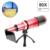 2017 new 80x zoom metal telescópio lente teleobjetiva para samsung s3 s4 s5 S6 S7 borda Mais nota 2 3 4 5 Caso Lentes Da Câmera Do Telefone kit