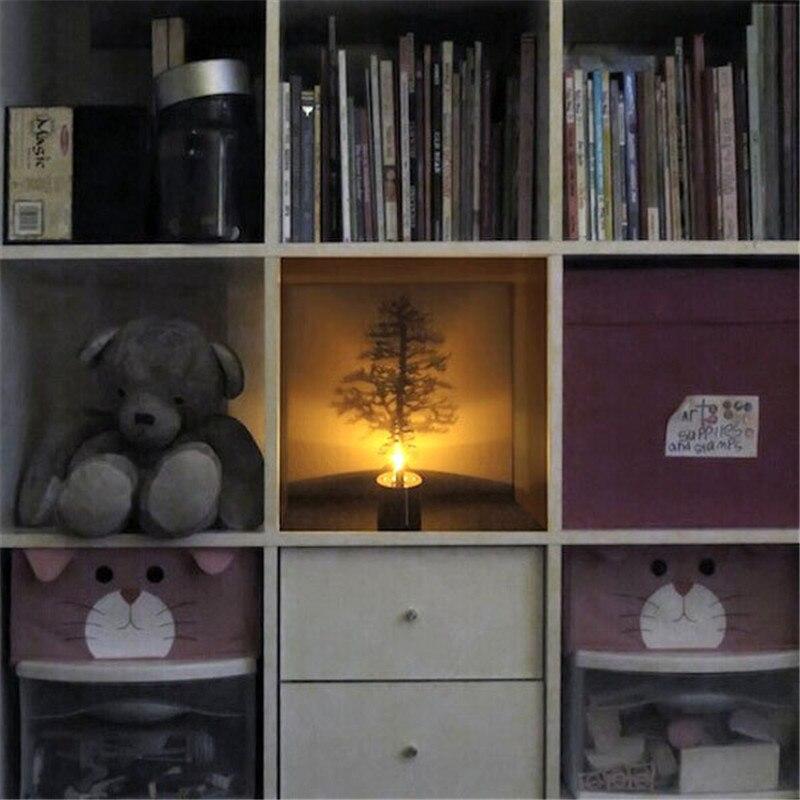 Candeeiros de Mesa Árvore de luz noite romântica Base : Cunha