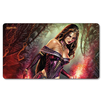 Liliana Of The Veil Board Games Playmats Magical Card The Games Gathering Play Mat Custom