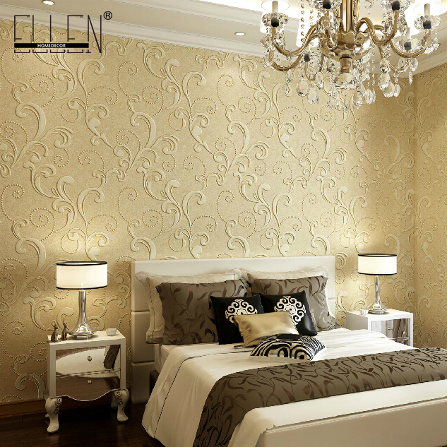 Livingroom wallpaper for walls 3d wall paper for bedroom 4 for Images of 3d wallpaper for bedroom