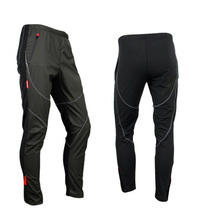 New Santic Men' Thermal Fleece Winter Windproof Cycling Pants Bike/Bicycle Sports Outdoor Trousers C4007
