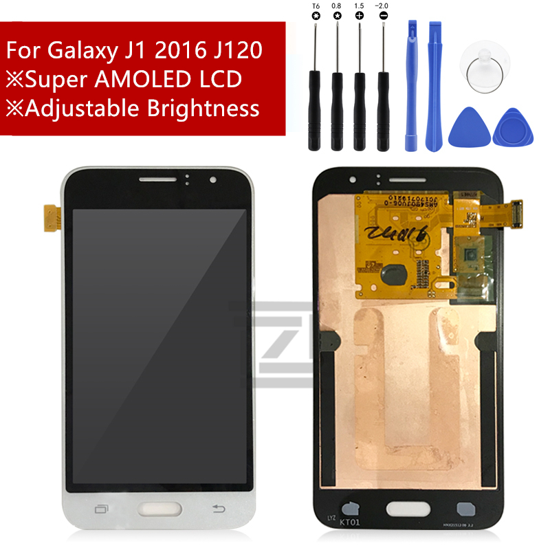 For SAMSUNG GALAXY J120 LCD J120M J120F J1 2016 Display Touch Screen Digitizer Assembly Replacement For