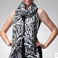 1 шт. летний стиль женщины девушки кашемира долго зебры печатных шарф платок cachecol feminino новый бесплатная доставка