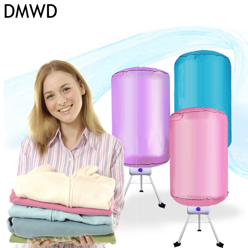 DMWD 220V Clothes dryer Multifunctional dryer Household PTC heat drying clothes 10-15kg load capacity shanghai kuaiqin kq 5 multifunctional shoes dryer w deodorization sterilization drying warmth