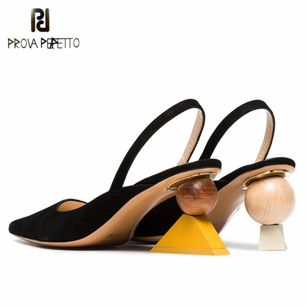 f021abeabc705b Sexy Pompes Perfetto Mariage Valentine Hauts Apricot Talons Étrange Femmes  Robe Sandales Chaussures Noir D'été De ...