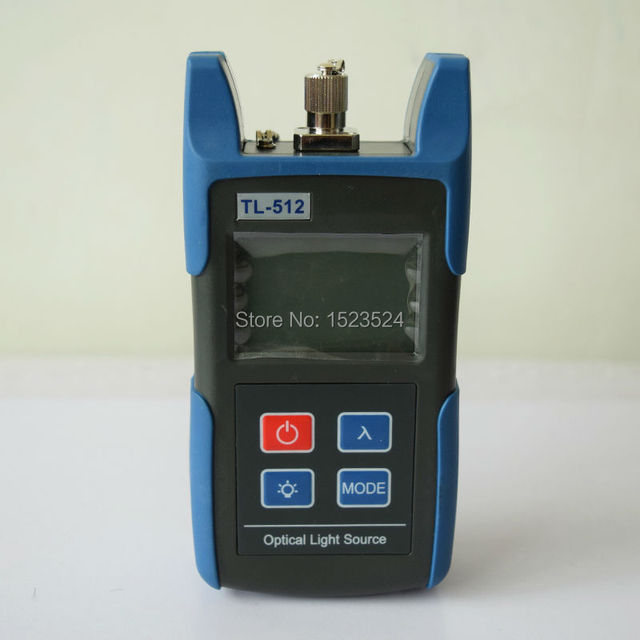 Free Shipping TL512 850/1300nm Multimode Handheld Mini Laser Source Fiber Optical Light Source