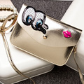 Fashion 2016 new style designers eyes sequins Girls small shoulder bag women crossbody bags