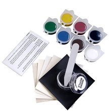 Kit de reparación de cuero líquido sin calor, herramienta de reparación de cuero para asiento de coche, sofá, abrigos, agujeros, grietas para arañazos