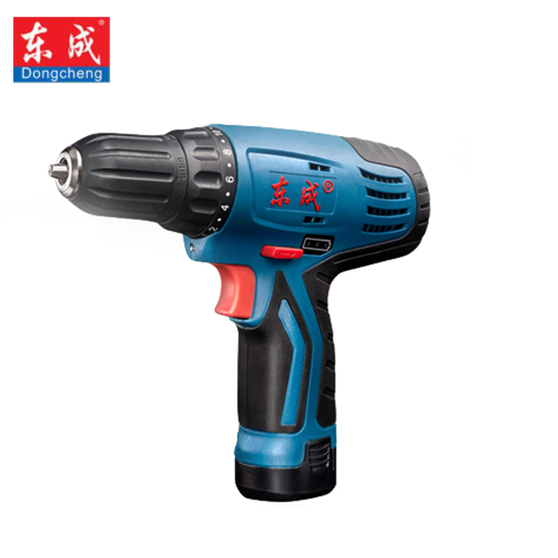 Dongcheng 12V DC Lithium Ion Battery Cordless Drill Driver Power Tools Screwdriver Electric Drill with Battery Included in Electric Drills from Tools