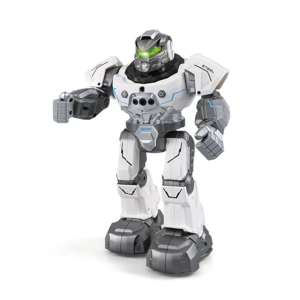 JJR/C R5 CADY WILI Robot Intelligent RC télécommande Programmable Auto suivre capteur de geste musique danse modèle RC jouet passe-temps
