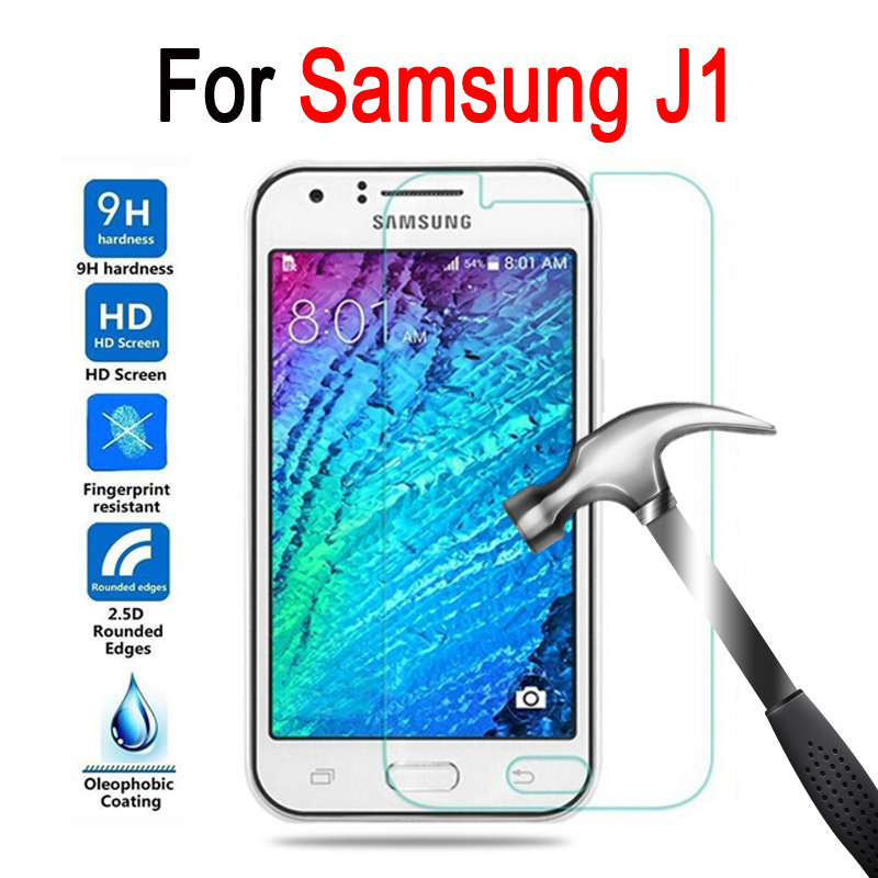 Tempered glass For Samsung Galaxy J1 Screen Protector On Samsung J 1 SM-J100F SM-J100FN SM-J100H Protective Film Case 2.5D 9H