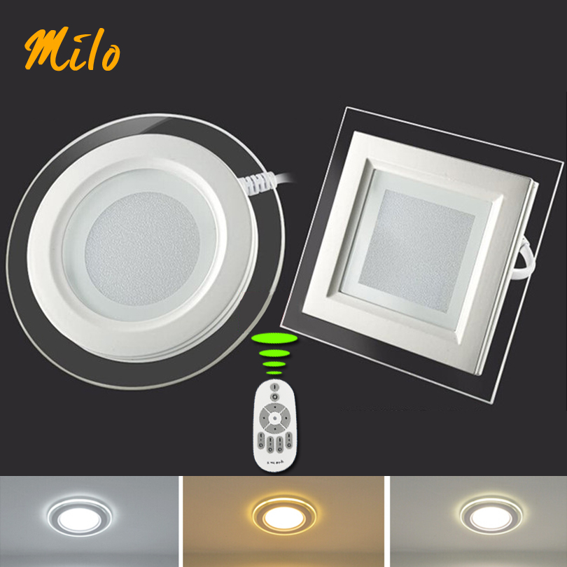 Led Light Fixtures Good: Free Shipping Good Quality Led Panel Light, Remote Control