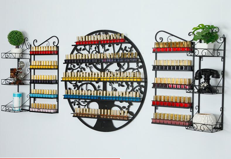 Art, Shelves, Circular, Polish, Hanging, Rack