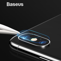 Baseus Back Camera Lens Tempered Glass For iPhone Xs Xs Max Camera Lens Protector Glass Film For iPhone Xs Xs Max 2018 9H Glass Phone Screen Protectors