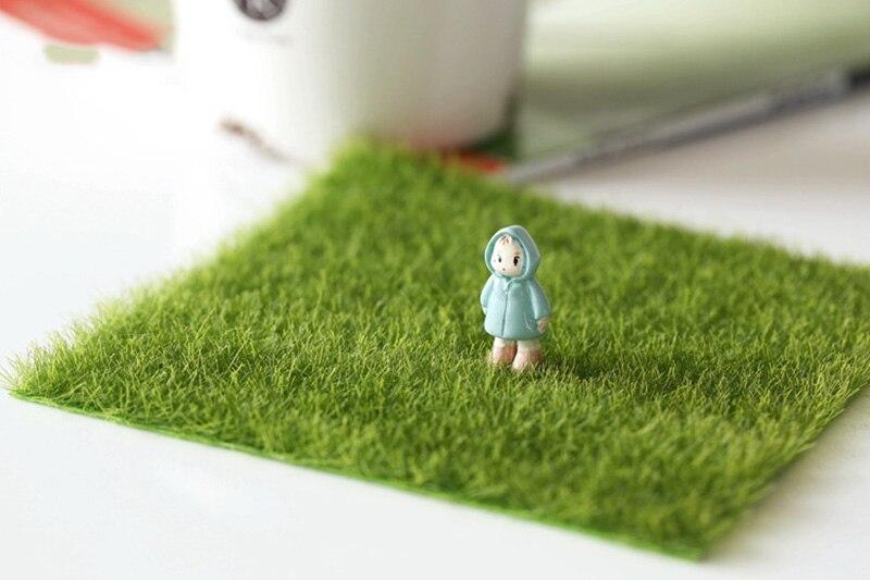 Flone Artificial PVC Grass Lawn False Moss Fake Turf Micro Landscape Decoration Accessories Home Living Room Decoration (1)