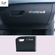 1pc for 2019 Ford FOCUS 4 MK4 Microfiber leather car stickers Passenger side  glove afb54e6bdb11