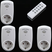 4-5pcs Wireless Remote Control Home House Power Outlet Light Switch Socket +1 Remote EU US UK Connector Plug Smart Socket