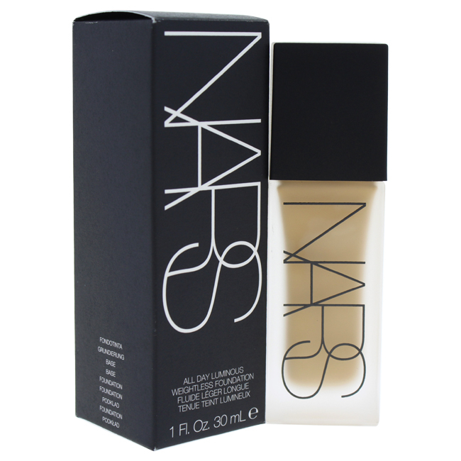 All Day Luminous Weightless Foundation - # 3 Stromboli/Medium by NARS for Women - 1 oz Foundation tint du soleil whipped foundation spf 30 light by colorescience for women 1 oz foundation