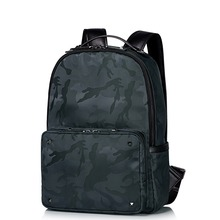New Style Men's Camouflage Waterproof Nylon Lightweight Travel Backpack Casual Daypack School Book Bag Fashion Trend Rucksack