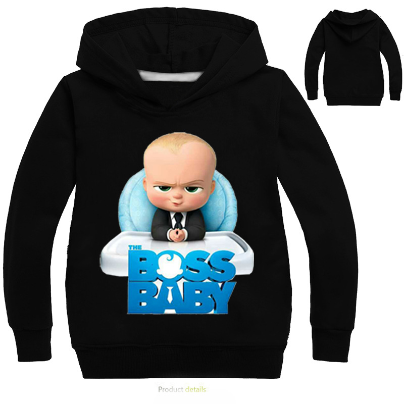 fcf1bbdf3 2-14Y The Boss Baby Hoodies for Girls Sweatshirts for Boys Bomber ...
