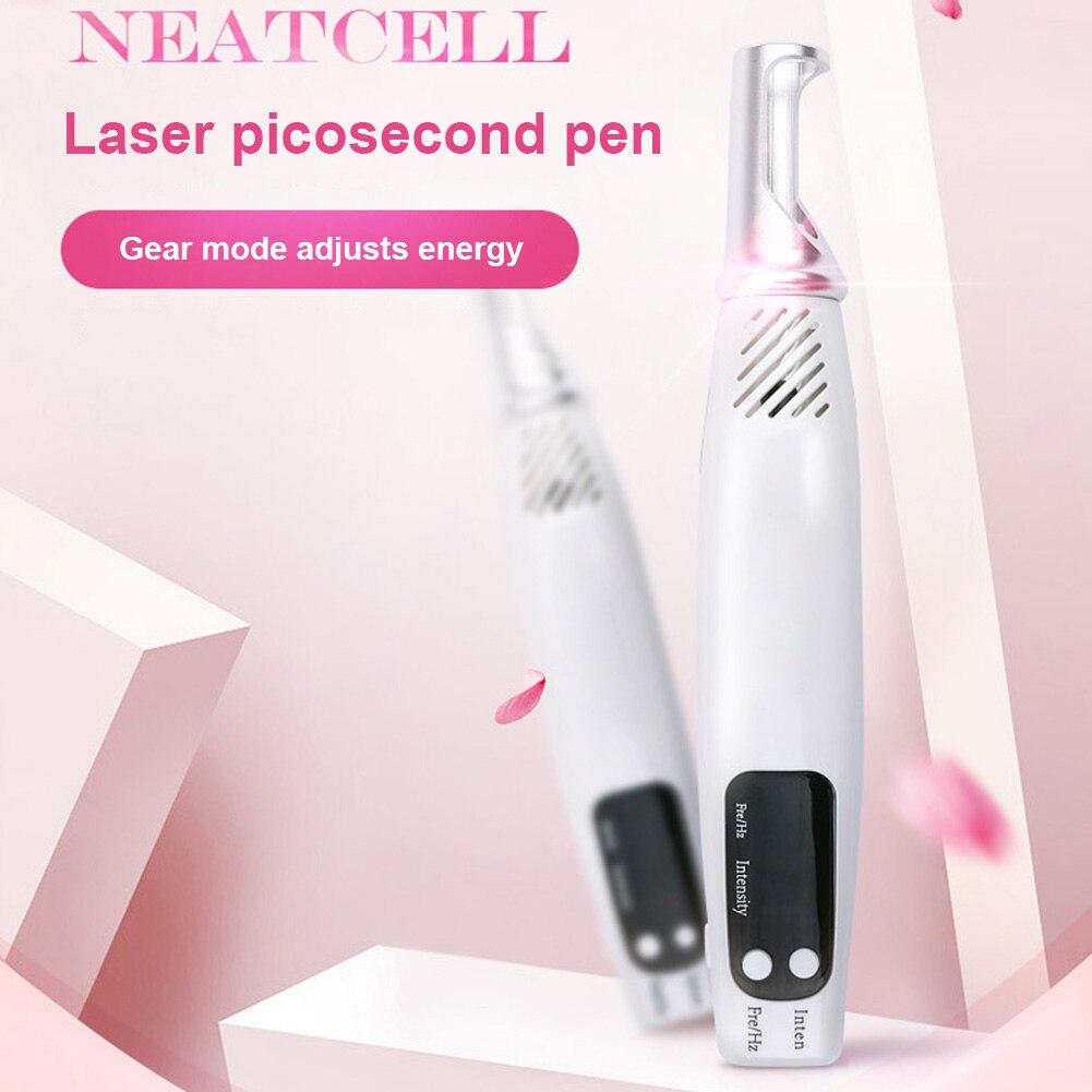 Picosecond stylo Set US/EU Plug outils de soin du visage cicatrice de tatouage tache foncée tache de rousseur enlèvement de taupe thérapie de la lumière soins de la peau visage beauté