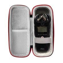 Bolsa de transporte dura de eva para zoom h1n, bolsa portátil para gravador digital portátil (modelo 2018) e acessórios